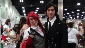 Sebastian and Grell by skaterichigo