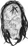 Anarchy Skull by oOKittie-With-CutsOo