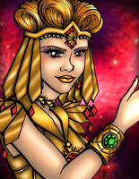 Galaxia is back Colored Version by JoJiaMystie