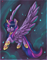 Personal: Twilight the alicorn by Tacsayo