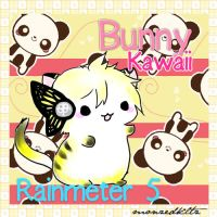 Bunny Kawaii Rainmeter 5 by monzedkltz