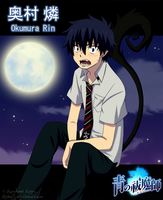 Ao no Exorcist - Okumura Rin by Madoris