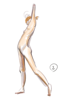 lifedrawing - 2min by sketchi