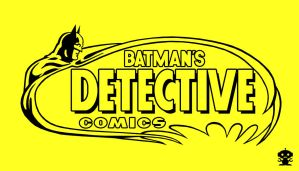 1977 Detective Comics Title Logo by HappyBirthdayRoboto