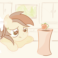 Roseluck Fretting Roses by ArmorProof