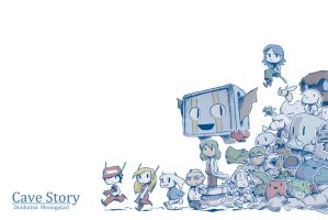 Cave Story by WhitePsych5