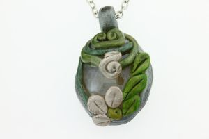 Spring in the forest_OOAK by Tuile-jewellery