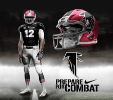 1966 Atlanta Falcons TB by DrunkenMoonkey