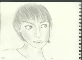 Woman Face Study n97 by lv888