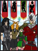 RWBY OC Team JSTS ( Justice ) by JettErebus