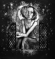 glass portrait by unsteadily