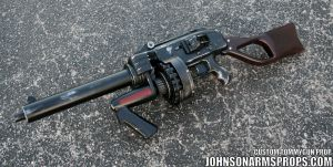 Diesel Punk Style Tommy Gun Prop 2 May 2014 by JohnsonArms