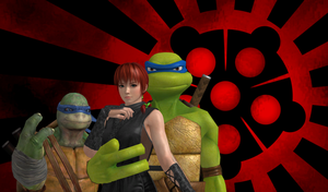 Shadows of the Hamato Family by SilverMoonCrystal
