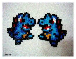 Perler Beads: Seeing Double? by Yamisuke