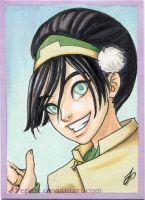 Toph ACEO by JPepArt