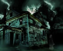 Haunted House by krissybdesigns