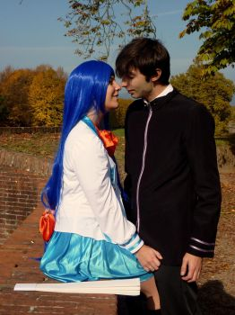 FMP: Sousuke x Chidori, do you ever kissed a girl? by Stiz89Phoenix
