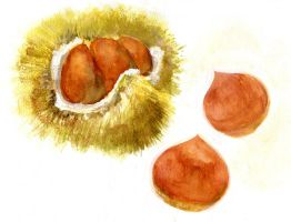 Chestnuts by sweetmoon
