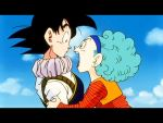 Bulma and Goku by RawNinjaberry