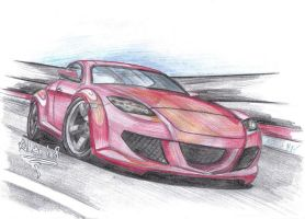Mazda RX8 by the-mba