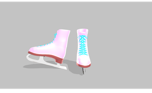 MMD SHINY Ice Skates by amiamy111