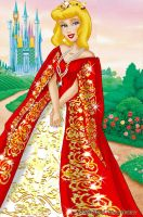 Cinderella deluxe gown by LadyAmber