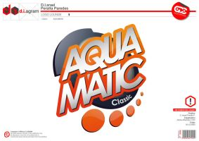 AQUAMATIC Logo by curseofthemoon