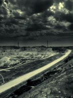 deserted road by coldsaw