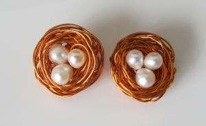 Pearl Bird's Nests by madewithloveL