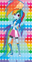 MLP- Rainbow Dash by MelciAdR