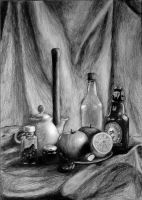 Still life by freshberries