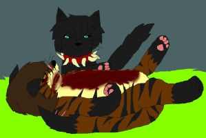 TigerStar's death by YamiKariShadow6