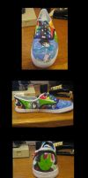 Other Homestuck shoe by kyuubicross