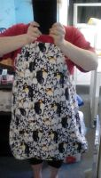 Penguins apron by kynight