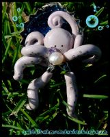 octopus bottle cap charm by quidditchmom