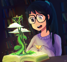 The magic book ~ by harrynanashi