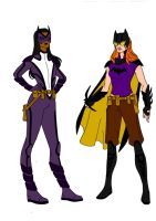 Batman Year One-Huntress And Batgirl Redesigns! by Comicbookguy54321