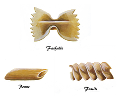 Pasta Shapes by Capoulton