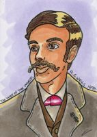 War of the Worlds Sketch Card (20) by GeekyWhiteGuy