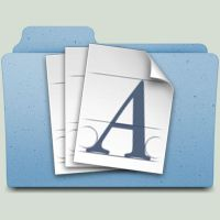 Font Folder by jasonh1234