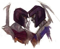 Thundercracker Skywarp by SachiAmi