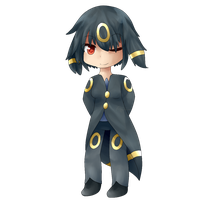 Veeze the Umbreon by Azurane