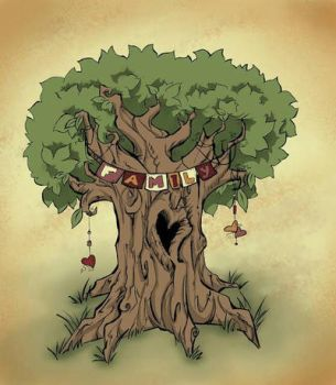 Family Tree by miss-Hobbit