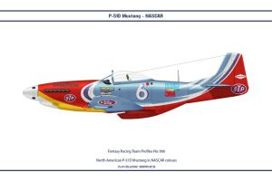 FR006 P-51D NASCAR by WS-Clave