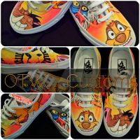 Lion King Vans by VeryBadThing