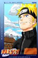 Naruto chapter247p1 colored by christenlanger