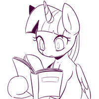 Doodle - Reading by Marenlicious
