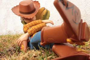 Woody at rest by Grecia Villar by PrincessOfCrime