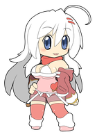 [Gift]Chibi Aria by Shadow443