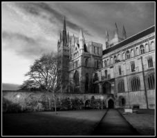 Peterborough Cathedral II by cacodemonic